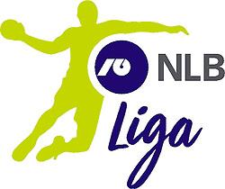 New logo of Slovenian 1st NLB Handball league, on February 18, 2017.