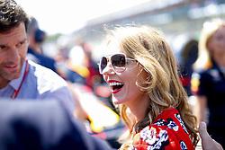 July 8, 2018 - Silverstone, Great Britain - Motorsports: FIA Formula One World Championship 2018, Grand Prix of Great Britain, .Mark Webber (AUS), Geri Horner  (Credit Image: © Hoch Zwei via ZUMA Wire)