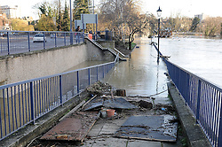 © Licensed to London News Pictures. 26/12/2013<br /> Maidstone Town Centre,Maidstone,Kent is flooded due to the river Medway Bursting its banks.<br /> Boxing day flooding in Kent.<br /> Large parts of Kent are still flooded due to heavy rain with more bad weather expected.<br /> Photo credit :Grant Falvey/LNP