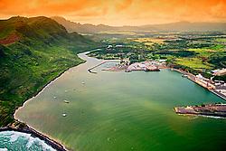 Nawiliwili Harbor, Nawiliwili, Kauai, Hawaii, Pacific Ocean