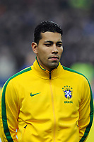 FOOTBALL - FRIENDLY GAME 2010/2011 - FRANCE v BRAZIL - 9/02/2011 - PHOTO JEAN MARIE HERVIO / DPPI - ANDRE SANTOS (BRA)