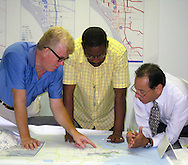 Members of the Sarasota/Manatee MPO's Bicycle/Pedestrain/Trails Advisory Committee (BPTAC) review the regional transportation system inventory.
