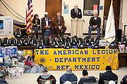 12/8/13 12:27:54 PM -- Albuquerque NM  --Presentation of supplies for Operation Comfort Warriors gifts to the Raymond G. Murphy VA Medical Center in Albuquerque, N.M..<br /> <br />  --    Photo by Steven St John