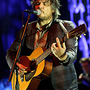 COLUMBIA, MD, -September 25th, 2011 - Jeff Tweedy of Wilco performs at Merriweather Post Pavilion. Wilco will release their eight studio album, The Whole Love, on Tuesday. (Photo by Kyle Gustafson/For The Washington Post).