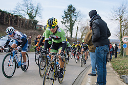Rosella Ratto gets out of the saddle on the second of five climbs on the local lap - 2016 Omloop van het Hageland - Tielt-Winge, a 129km road race starting and finishing in Tielt-Winge, on February 28, 2016 in Vlaams-Brabant, Belgium.