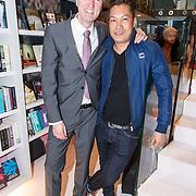 NLD/Amsterdam/20150326 - Boekpresentatie de Roze Moorden, auteur Paul Hofman en ............