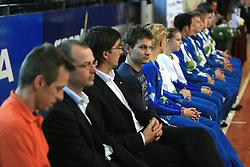 """Mitja Petkovsek at event """"Slovenian Gymnastics stars"""" after the European Championships in Milano, on April 6, 2009, in Hall Slovan, Kodeljevo, Ljubljana, Slovenia. (Photo by Vid Ponikvar / Sportida)"""