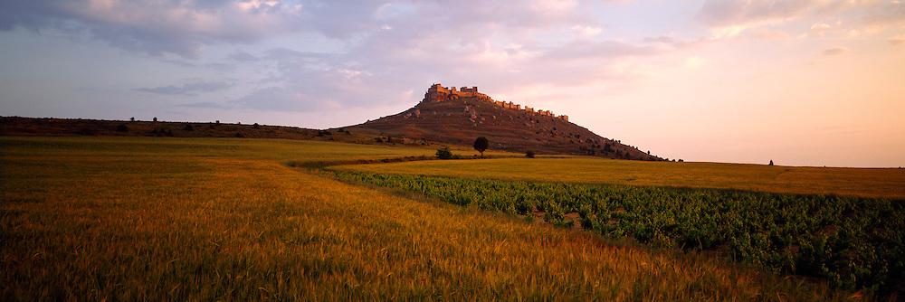 SPAIN, CASTILE AND LEON Gormaz Castle, Muslim, c.965 near Soria