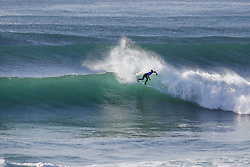 October 12, 2017 - Miguel Pupo of Brazil advances to Round Three of the 2017 Quiksilver Pro France after defeating Filipe Toledo of Brazil in Heat 4 of Round Two at Hossegor. (Credit Image: © WSL via ZUMA Press)