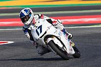 John MCPHEE of Great Britain and British Talent Team  rides during free practice for the Moto3 of Catalunya at Circuit de Catalunya on June 10, 2017 in Montmelo, Spain.(ALTERPHOTOS/Rodrigo Jimenez)