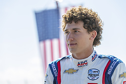 March 9, 2019 - St. Petersburg, Florida, U.S. - MATHEUS LEIST (4) of Brazil prepares for a practice session for the Firestone Grand Prix of St. Petersburg at The Temporary Waterfront Street Course in St. Petersburg Florida. (Credit Image: © Walter G Arce Sr Asp Inc/ASP)