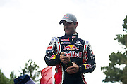 June 26-30 - Pikes Peak Colorado. Sebastian Loeb sets a new outright hill climb record with an 8:13.878 over the 12.4 mile course during the 91st running of the Pikes Peak Hill Climb.