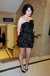 SADIE FROST at the 2008 British Fashion Awards held at the Lawrence Hall, Westminster, London on 25th November 2008.