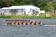 Eton. Great Britain. ROU JW8+, Silver Medal, FISA Junior  World Rowing Championships. Dorney Lake, Nr Windsor. Sunday, 07/08/2011 [Mandatory credit: Intersport Images]