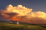 Sunrise and sunset photography around Jackson Hole, with artistic effects and textures.