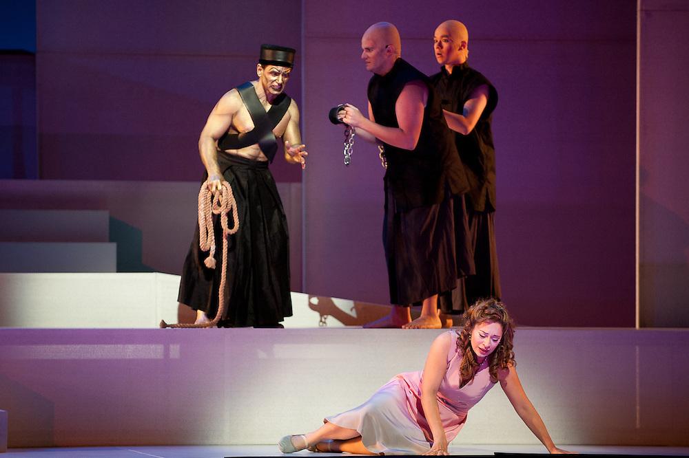 Austin Lyric Opera's production of Mozart's fantasy opera, The Magic Flute.