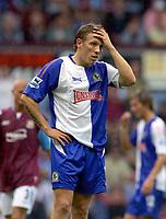 Fotball<br /> England 2004/2005<br /> Foto: Colorsport/Digitalsport<br /> NORWAY ONLY<br /> <br /> Craig Bellamy (Blackburn) after a 3-1 defeat. West Ham United v Blackburn Rovers. 13/8/2005