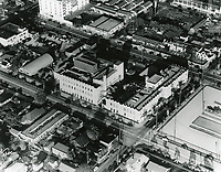 1938 Aerial view of Technicolor Lab on Cahuenga Ave.