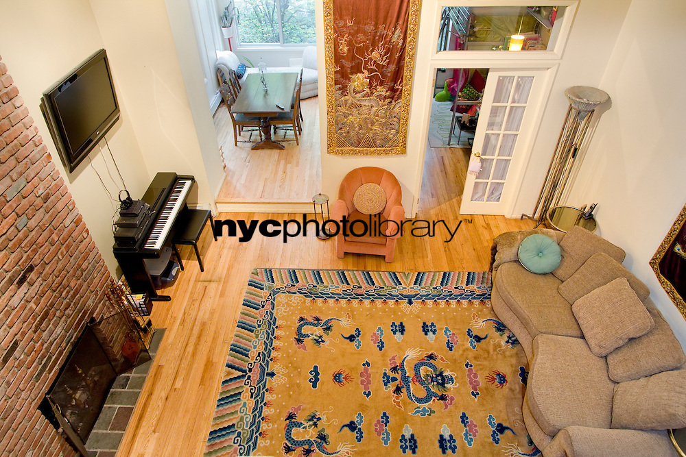 Living Room at 157 West 78th Street