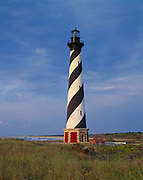 Cape Hatteras Lighthouse built in 1870, Cape Hatteras National Seashore, North Carolina.