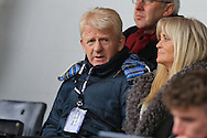 Gordon Strachan during the Sky Bet League 1 match between Rochdale and Doncaster Rovers at Spotland, Rochdale, England on 2 April 2016. Photo by Daniel Youngs.