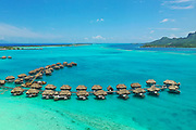 St Regis Bora Bora Resort, Bora Bora, Society Islands, French Polynesia; South Pacific