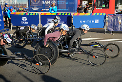 Manuela Schar, Tatyana KcFadden start wheelchairs<br /> TCS New York City Marathon 2019