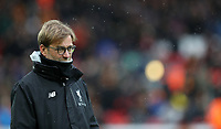 Football - 2016 / 2017 FA Cup - Fourth Round: Liverpool vs. Wolverhampton Wanderers<br /> <br /> Jurgen Klopp manager of Liverpool  during the match at Anfield.<br /> <br /> COLORSPORT/LYNNE CAMERON