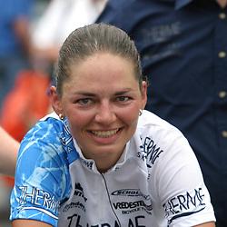 Sportfoto archief 2000-2005<br />2005 <br /> NK wielrennen vrouwen weg Rotterdam Janneke Vos pakte de titel