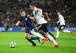 November 10, 2017 - London, England, United Kingdom - Julian Draxler of Germany ..during International Friendly match between England  and Germany  at Wembley stadium, London  on 10 Nov  , 2017 Julian Draxler of Germany ..during International Friendly match between England  and Germany  at Wembley stadium, London  on 10 Nov  , 2017 ..during International Friendly match between England  and Germany  at Wembley stadium, London  on 10 Nov  , 2017  (Credit Image: © Kieran Galvin/NurPhoto via ZUMA Press)