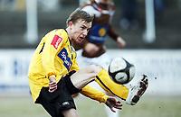 Fotball . 25. april 2010 , Adeccoligaen , 1. divisjon<br /> Mjøndalen - Moss 1-3<br /> <br /> Kevin Nicol , Moss