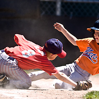 Saturday, June 14 , 2008 marked the final Evergreen Little League game after more than 50 years at Wineberg Park. The park is scheduled to be torn down for development.<br /> (The Columbian/ N. Scott Trimble)