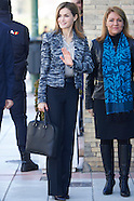 031615 Queen Letizia attend a meeting with UNICEF