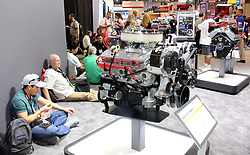 Over 160,000 people attended the annual SEMA Auto Show in Las Vegas, NV. Time of a rest stop at auto show. (Credit Image: © Barry Sweet/ZUMA Wire)