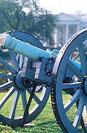 Antique Canon in Lafayette park in front of the White House
