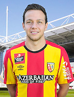 Patrick OLSEN - 30.10.2015 - Portrait Officiel - Lens<br /> Photo : RC Lens / Icon Sport