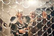 ASHLEY HORSLEY; KAREN GRANGER;, Relics of the Mind.- Private view of work by Katharine Dowson. GV Art, 49 Chiltern st. London. W1. 16 September 2010. -DO NOT ARCHIVE-© Copyright Photograph by Dafydd Jones. 248 Clapham Rd. London SW9 0PZ. Tel 0207 820 0771. www.dafjones.com.