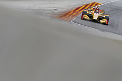 June 22, 2018 - Elkhart Lake, Wisconsin, United States of America - RYAN HUNTER-REAY (28) of the United States takes to the track to practice for the KOHLER Grand Prix at Road America in Elkhart Lake, Wisconsin. (Credit Image: © Justin R. Noe Asp Inc/ASP via ZUMA Wire)