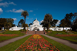 Conservatory, Golden Gate Park, San Francisco, California, USA.  Photo copyright Lee Foster.  Photo # california108791