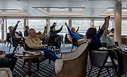 Patagonia, cruising with Ventus Australis. a knots lesson on the boat