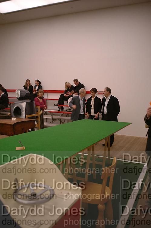 Martin Kippenberger, Tate Modern. 7 Febriuary 2006. -DO NOT ARCHIVE-© Copyright Photograph by Dafydd Jones 66 Stockwell Park Rd. London SW9 0DA Tel 020 7733 0108 www.dafjones.com