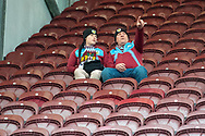 Burnley fans look on during the The FA Cup 3rd round match between Burnley and Barnsley at Turf Moor, Burnley, England on 5 January 2019.