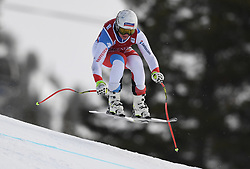 30.11.2017, Lake Louise, CAN, FIS Weltcup Ski Alpin, Lake Louise, Abfahrt, Damen, 3. Training, im Bild Corinne Suter (SUI) // Corinne Suter of Switzerland in action during the 3rd practice run of ladie's Downhill of FIS Ski Alpine World Cup at the Lake Louise, Canada on 2017/11/30. EXPA Pictures © 2017, PhotoCredit: EXPA/ SM<br /> <br /> *****ATTENTION - OUT of GER*****