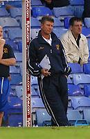 Photo: Dave Linney.<br />Birmingham City v Shrewsbury Town. Carling Cup. 22/08/2006.Shrewbury Mgr Gary Peters