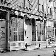 Y-581014-10.  Café Espresso, 1834 SW 6th, between Montgomery & Hall, east side of street. October 14, 1958