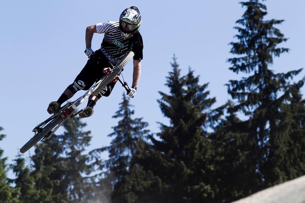 IXS Dirt Masters at Winterberg (Germany).Rider Logan Binggeli (USA)
