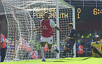 Picture: Henry Browne<br />Date: 13/09/2003<br />Arsenal v Portsmouth  FA Barclaycard Premiership<br /><br />Thierry Henry celebrates after scoring from the spot, but it was disallowed, so he scored again