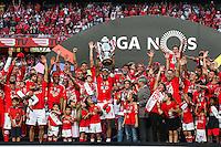 Joie groupe Benfica - 23.05.2015 - Benfica / Maritimo - Liga Sagres <br /> Photo : Carlos Rodriguez / Icon Sport