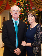 Brendan Carroll  and Carmel Ní Fhlatharta at the Gorta Self Help Africa Annual Ball at the Galway Bay Hotel, Salthill Galway.<br /> Photo:Andrew Downes, xposure.