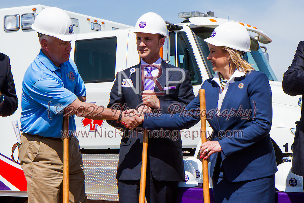 May 20, 2014 - Oklahoma Governor Mary Fallin, Oklahoma State Congressman - Tom Cole spoke at the one year anniversary for the ground breaking of the new Moore Medical Center.